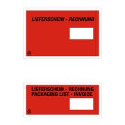 Lieferschein- und Dokumententasche Fenster rechts